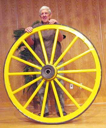 George and wheel